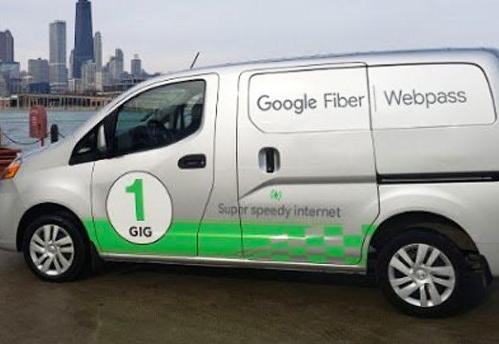 Google的无线千兆互联网现在称为Fiber Webpass