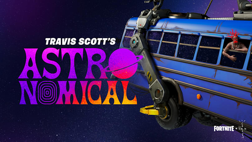Travis Scott is going on tour in 'Fortnite' starting April 23rd