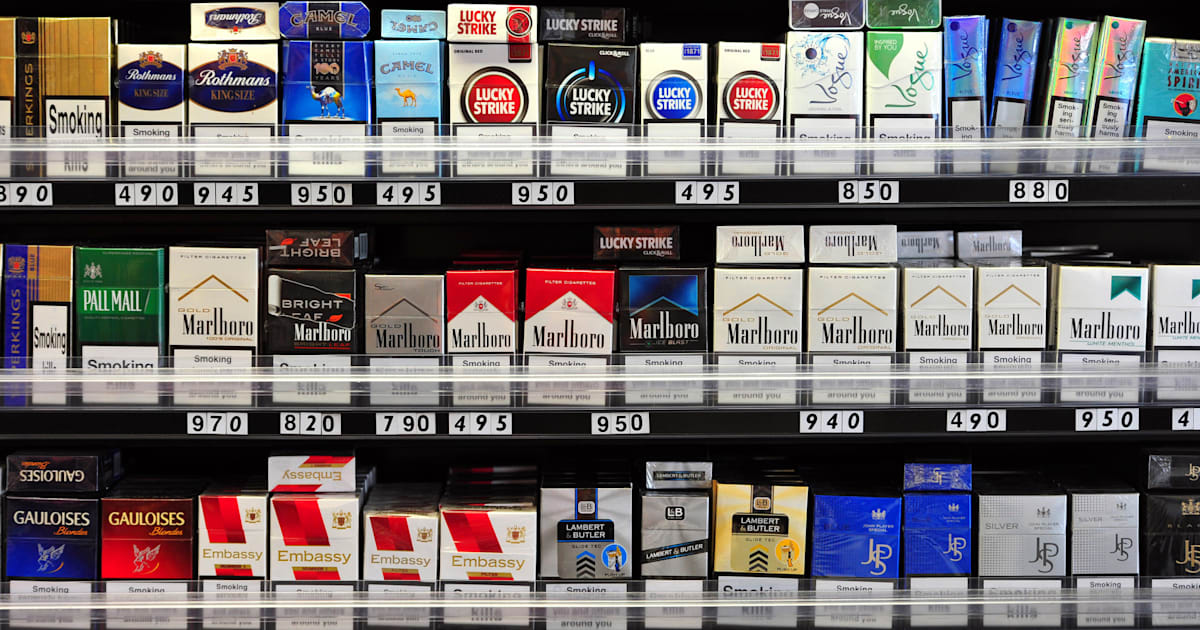 the contribution of cigarette tax in