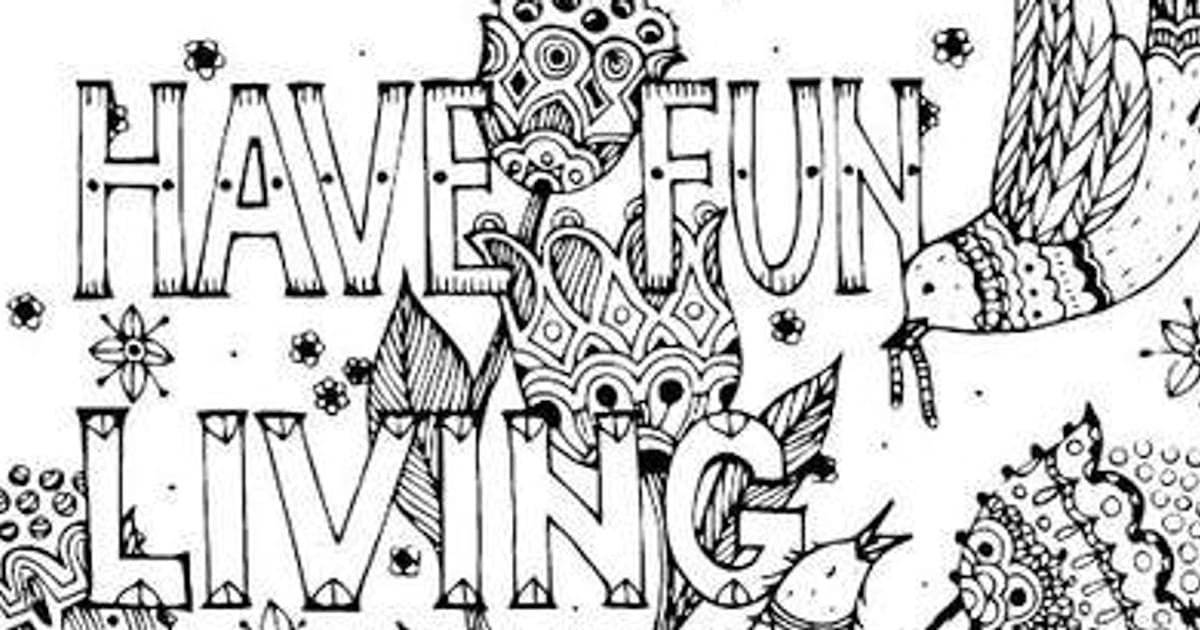 Expletive-Filled Colouring Book Helps Relieve Your Post