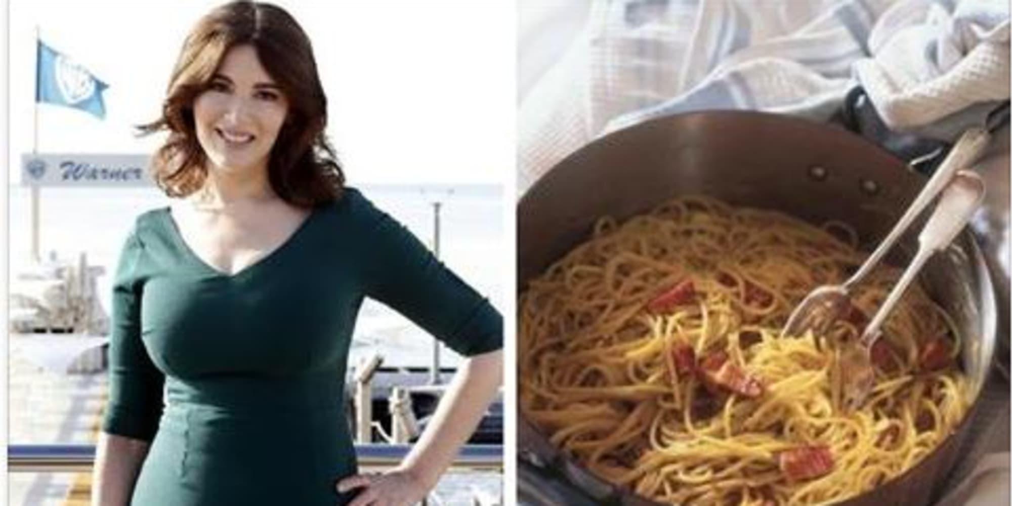 la carbonara di questa famosissima chef inglese un oltraggio alla cucina italiana