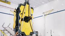 NASA successfully deploys the James Webb Telescope's enormous mirror