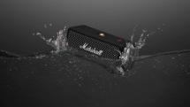Marshall's waterproof Emberton speaker lasts for 20 hours