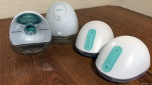 A new mom reviews two smart breast pumps