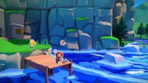 'Paper Mario: The Origami King' is the ideal 'Animal Crossing' break