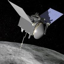 NASA shares first images from OSIRIS-REx's touchdown on Bennu