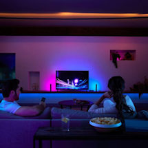 Philips adds voice control to its Hue TV sync box
