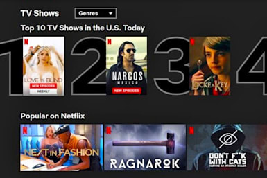 Netflix's daily-updating Top 10 lists roll out worldwide