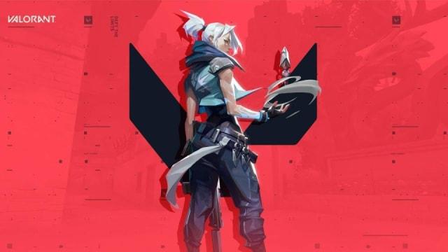 'Valorant' hero on the game's icon