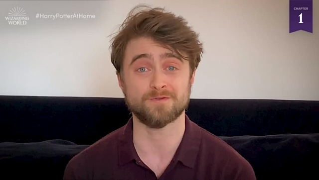 Daniel Radcliffe reading the first chapter of Harry Potter and the Philosopher's Stone