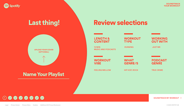 Spotify Soundtrack Your Playlist