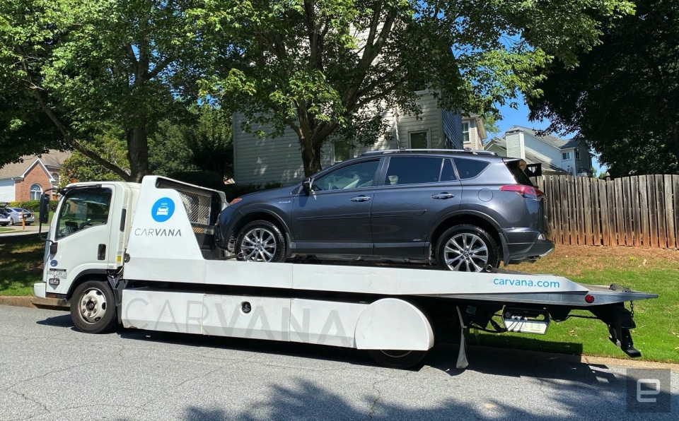 Carvana used car review