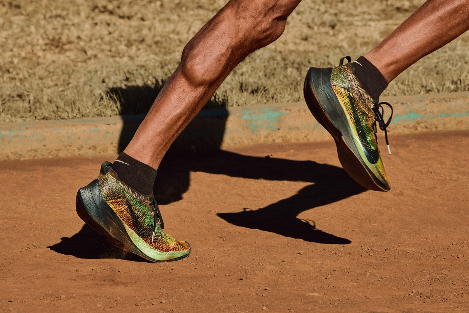 Nike's 3D-printed textiles make running shoes even lighter