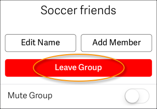 Leave Group