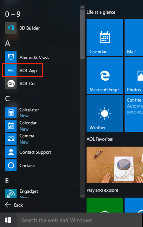 how to add to top sites windows 10