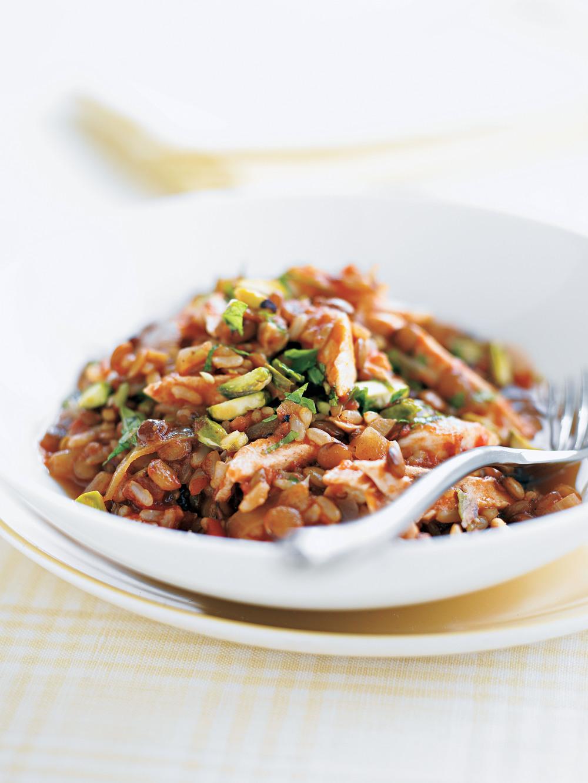 Chicken & Lentil Pilaff