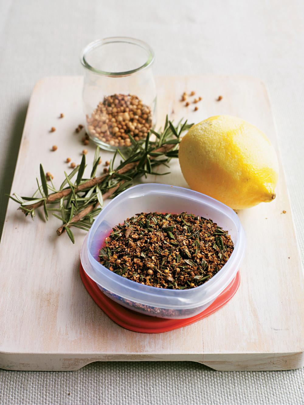 Rosemary, Coriander & Lemon Rub - AOL Living UK