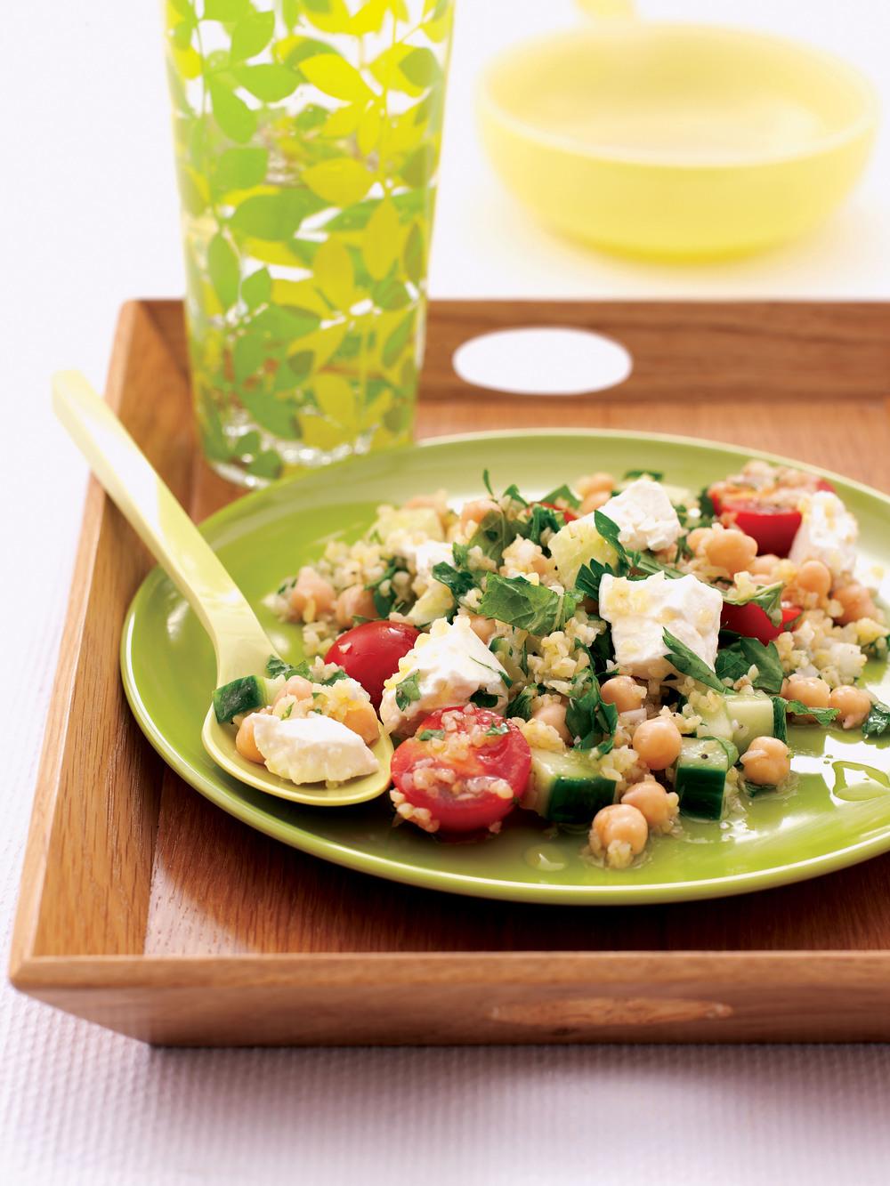 Chickpea & Herb Salad - AOL Living UK