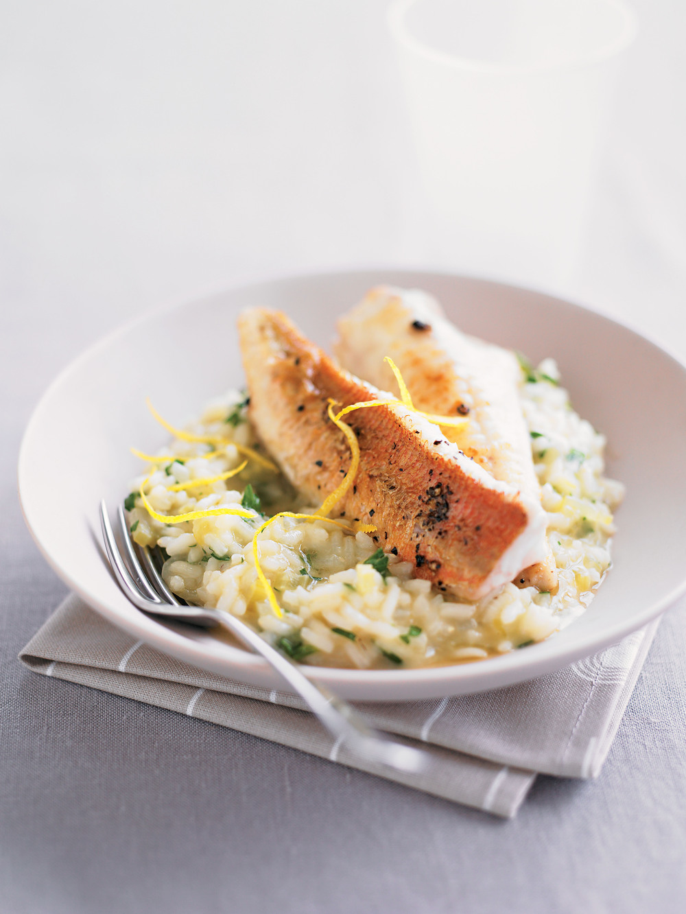 Gurnard with Parsley Risotto