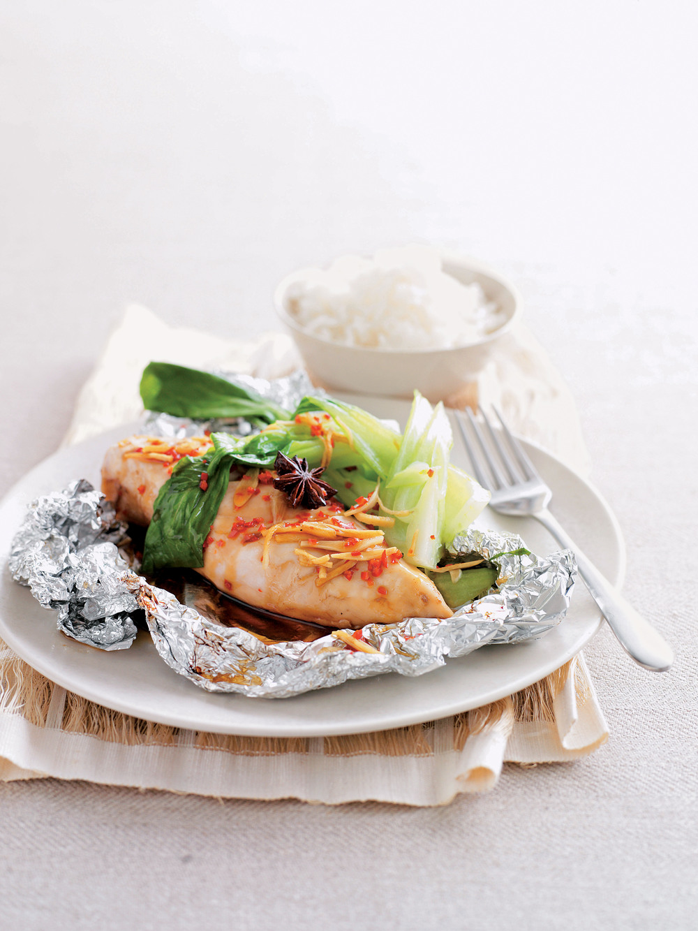 Asian Chicken Parcels - AOL Living UK