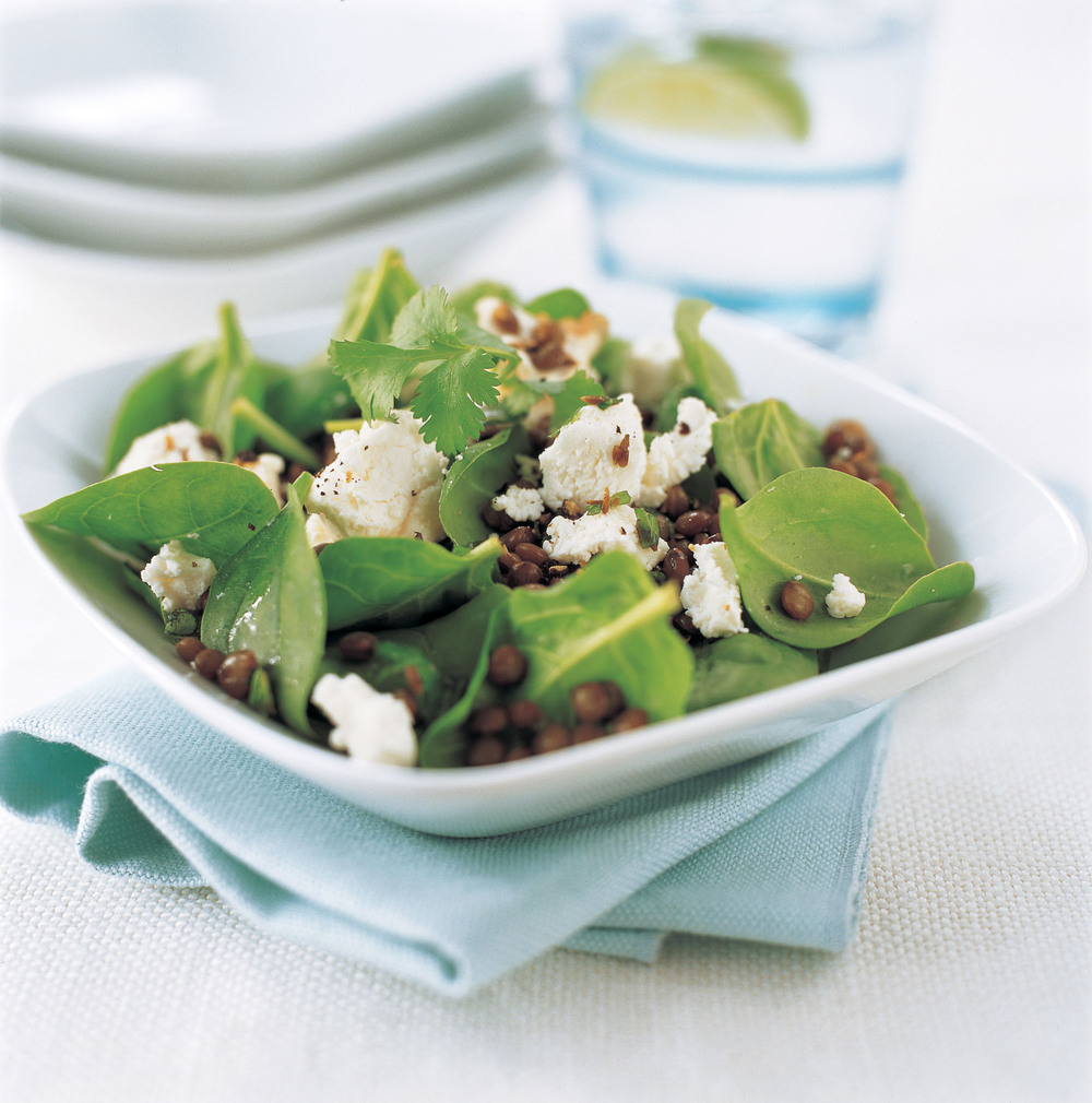 Warm Lentil & Goats' Cheese Salad - Aol UK | Food