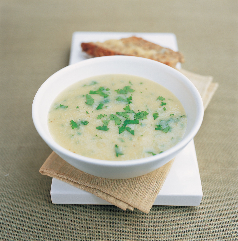 Cumin Roasted Cauliflower Soup Recipe — Dishmaps
