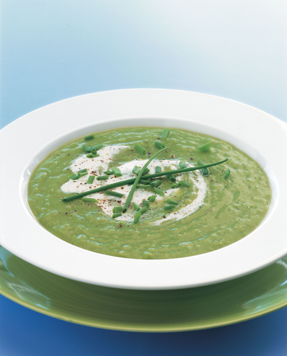 Summer Green Pea Soup - AOL Living UK
