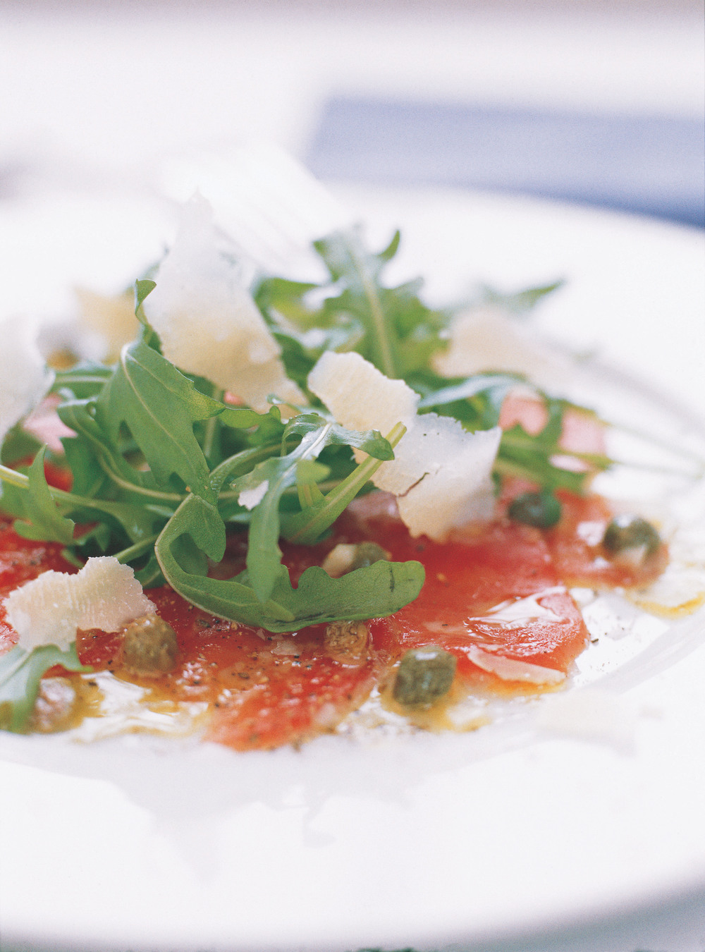 Carpaccio of fresh tuna recipe for Fresh tuna fish recipes