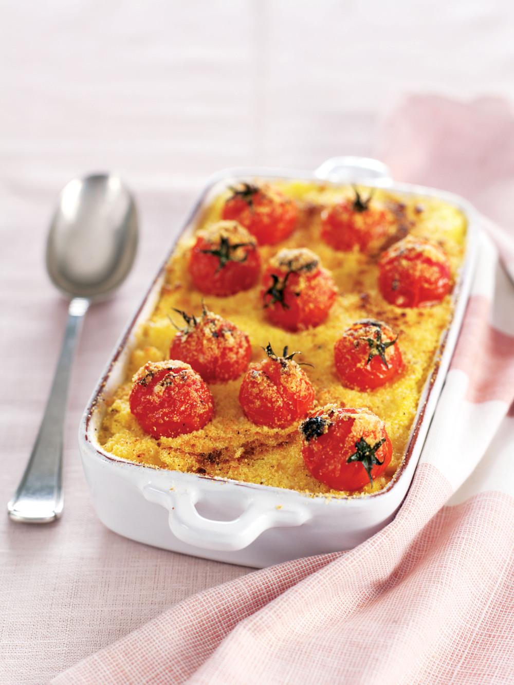 Baked polenta with gorgonzola aol living uk - Baked polenta cheese recipes ...