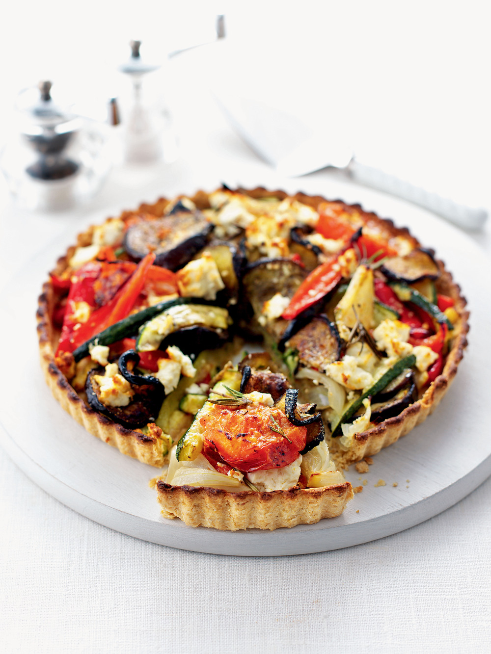 Feta & Roast Vegetable Tart - AOL Living UK