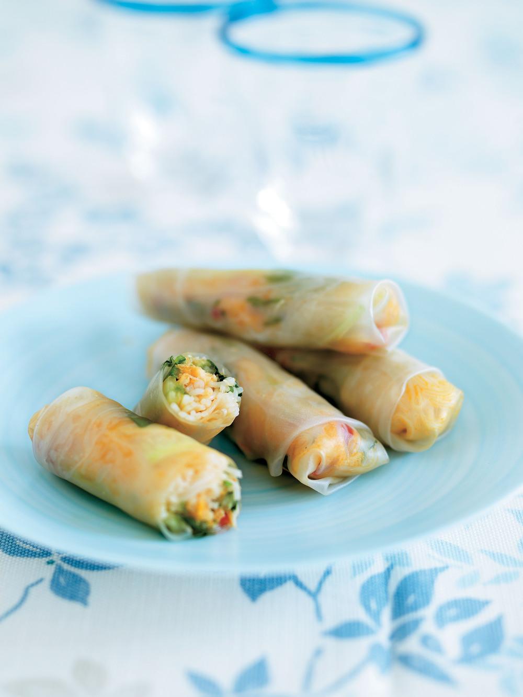 Crab & Noodle Asian Wraps - Aol UK | Food