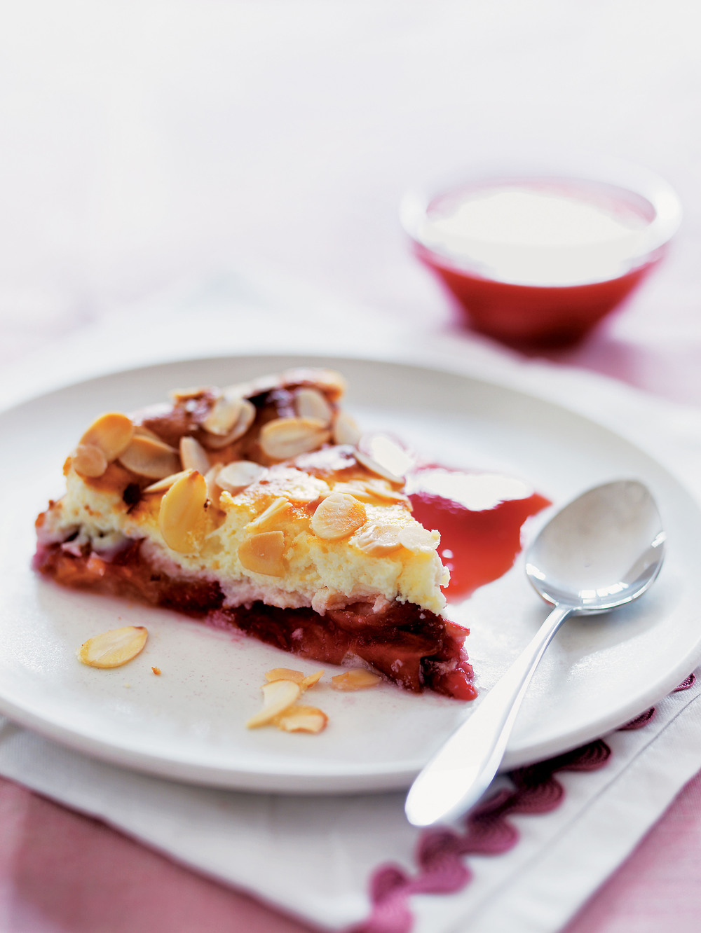 Ricotta, Plum & Almond Cake - AOL Living UK