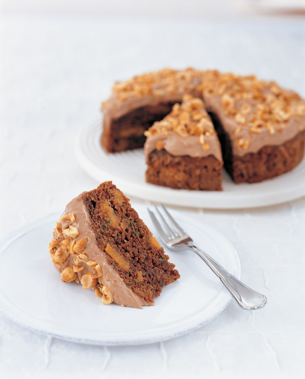 Chocolate, Courgette & Nut Cake - AOL Living UK