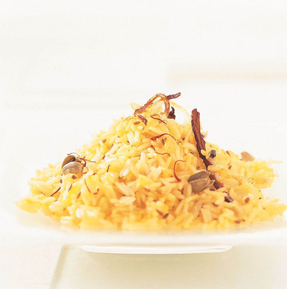 Saffron & Cardamom Rice - AOL Living UK