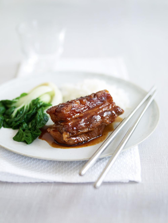 Japanese Braised Pork Belly Recipe — Dishmaps
