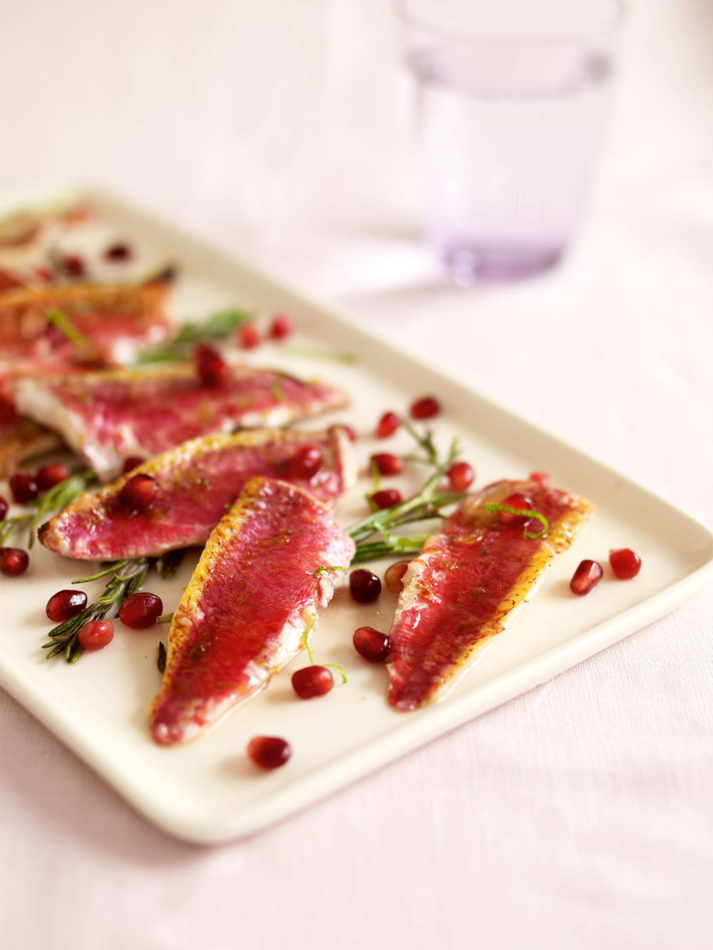 Red mullet with pomegranate recipe for Mullet fish recipe