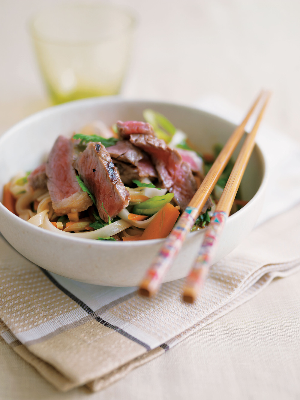 Aol UK | Food | Teriyaki Beef with Rice Noodles