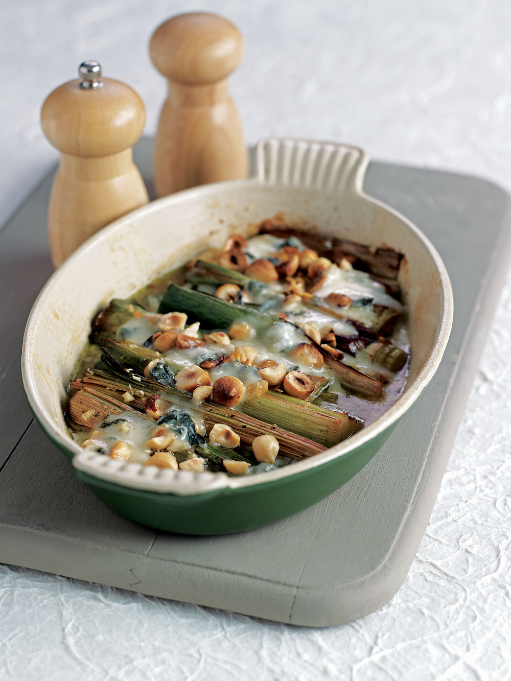 Leeks Baked with Blue Cheese - AOL Living UK