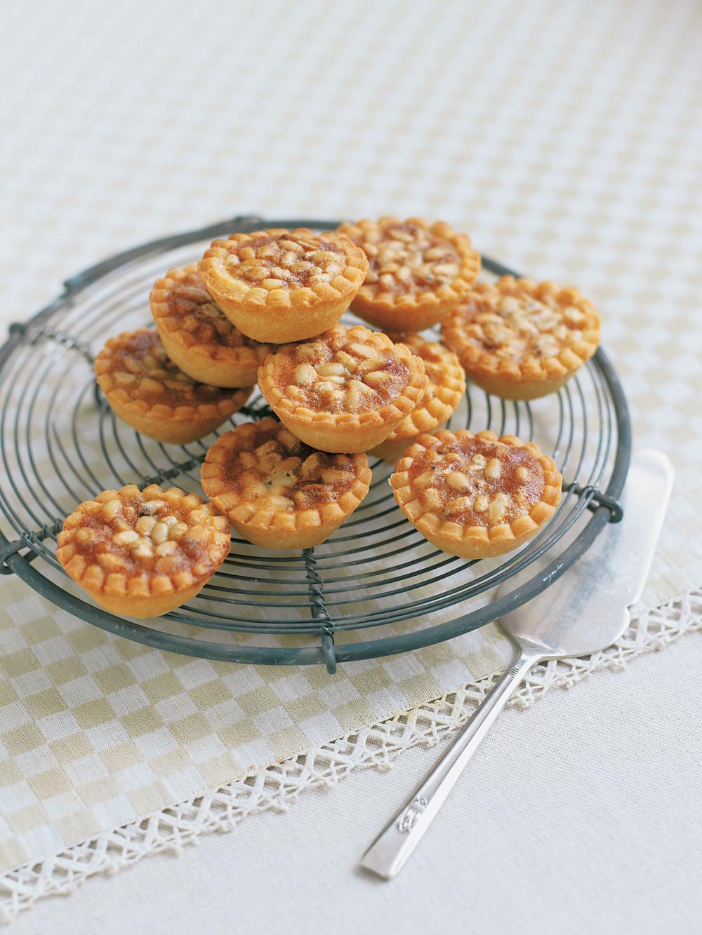 Mini Pine Nut & Honey Tarts