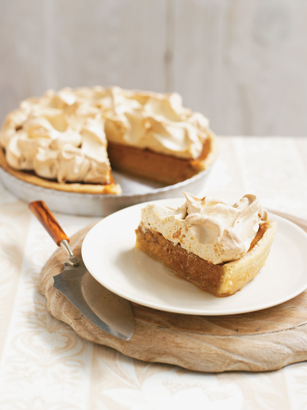 Sweet Potato Meringue Pie - AOL Living UK