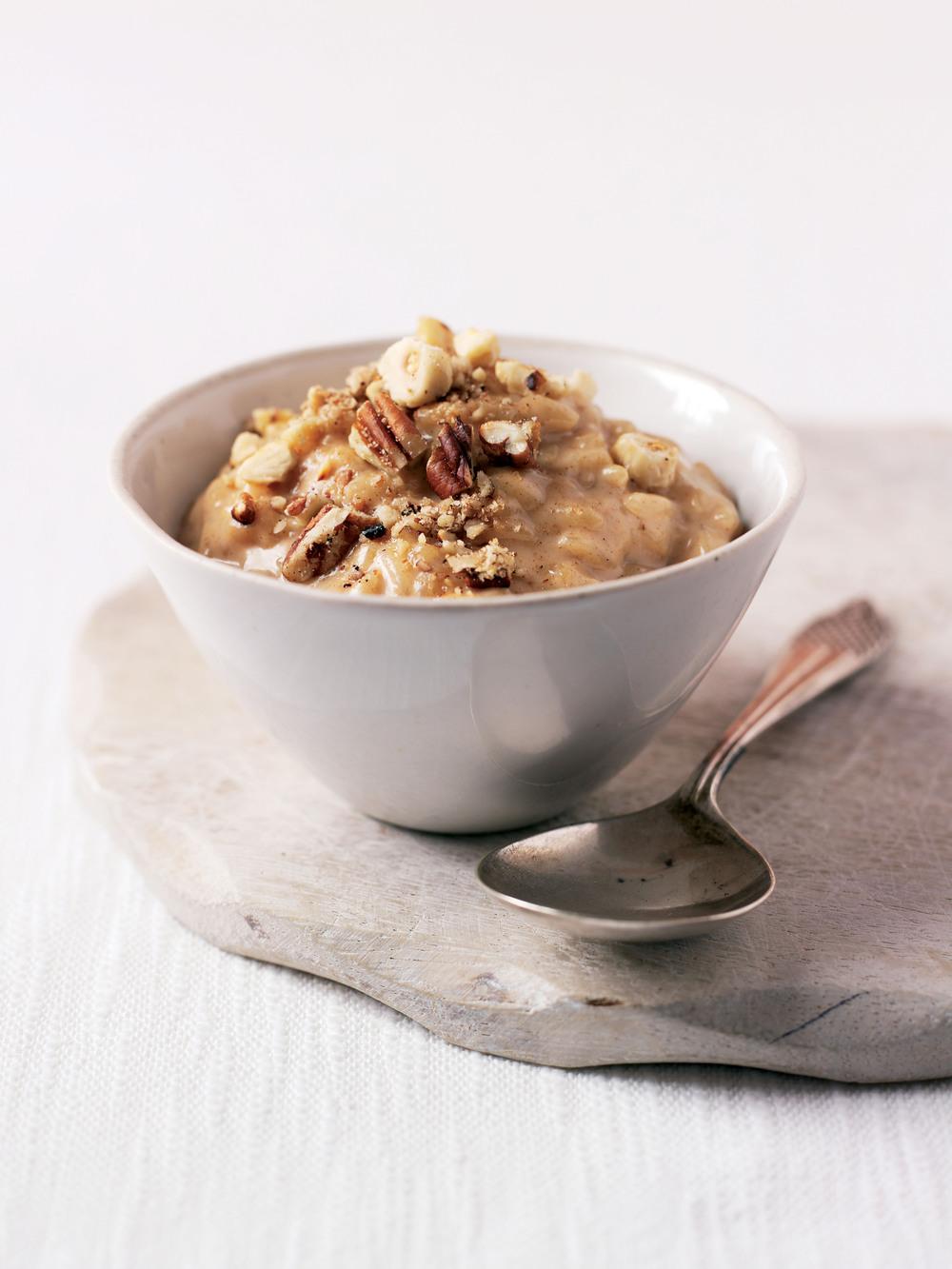 Nutty Cinnamon Risotto recipe