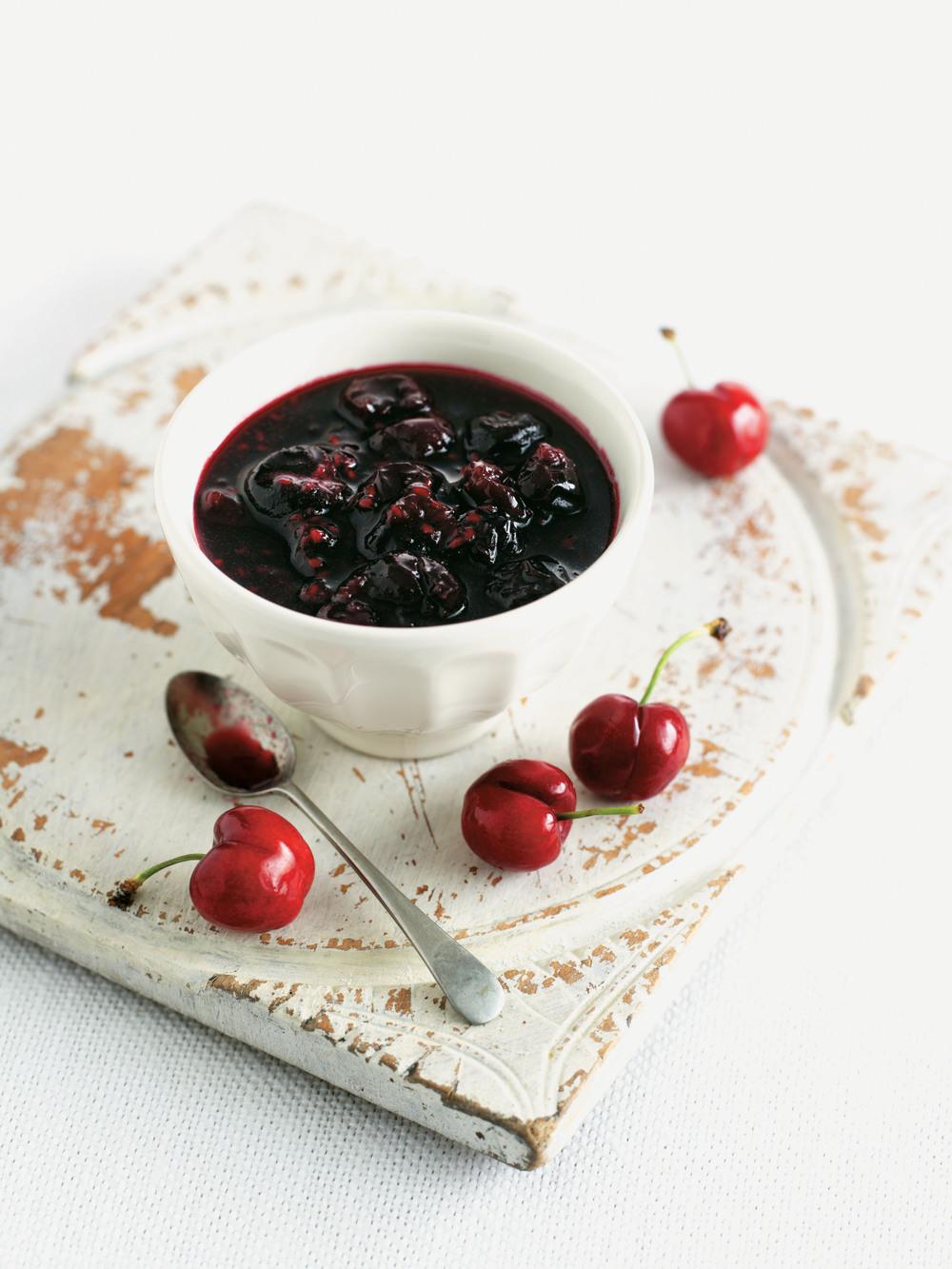 Cherry & Raspberry Jam