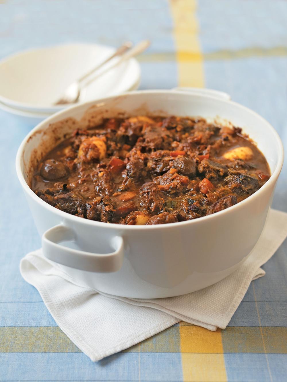 Venison, Stout & Chestnut Stew recipe