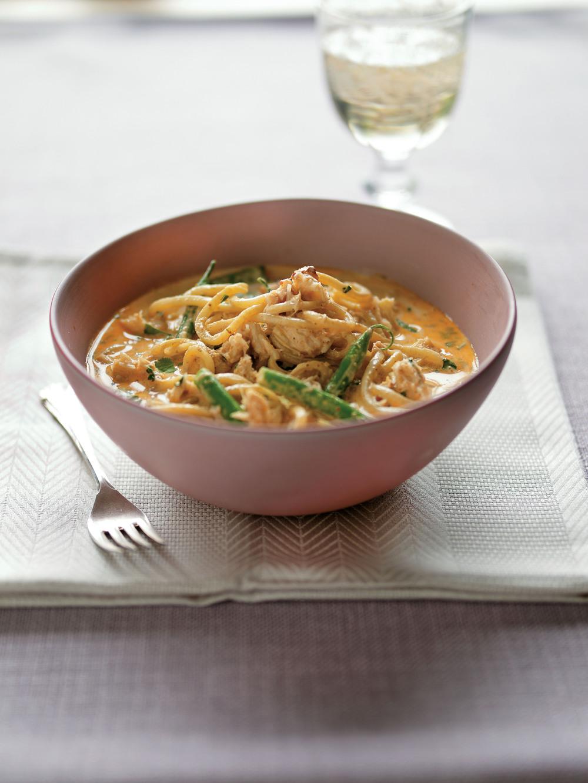 Spicy Thai Crab Noodles - AOL Living UK