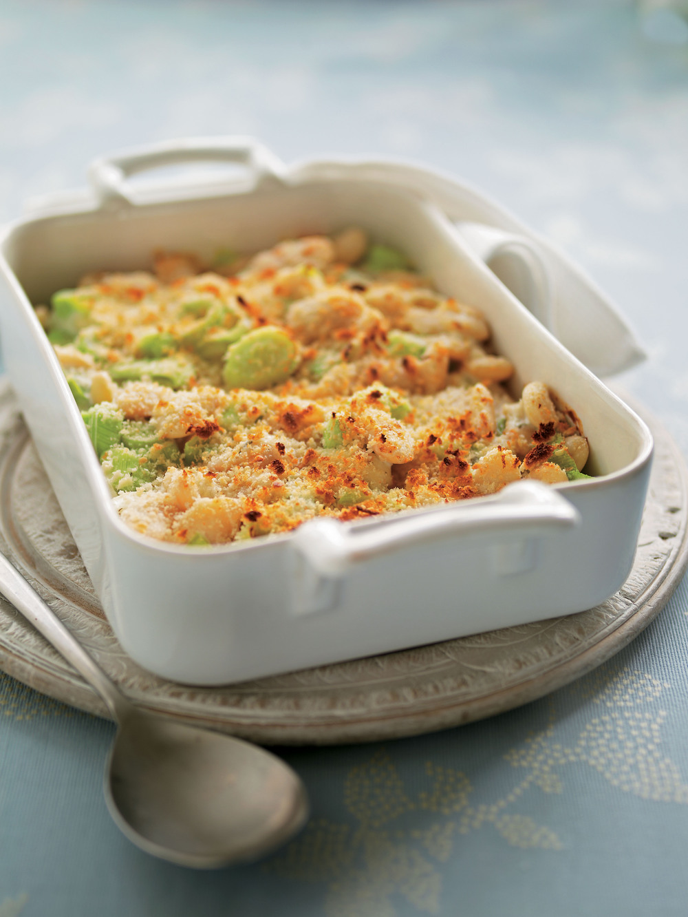Creamy Leek & Butter Bean Gratin - AOL Living UK