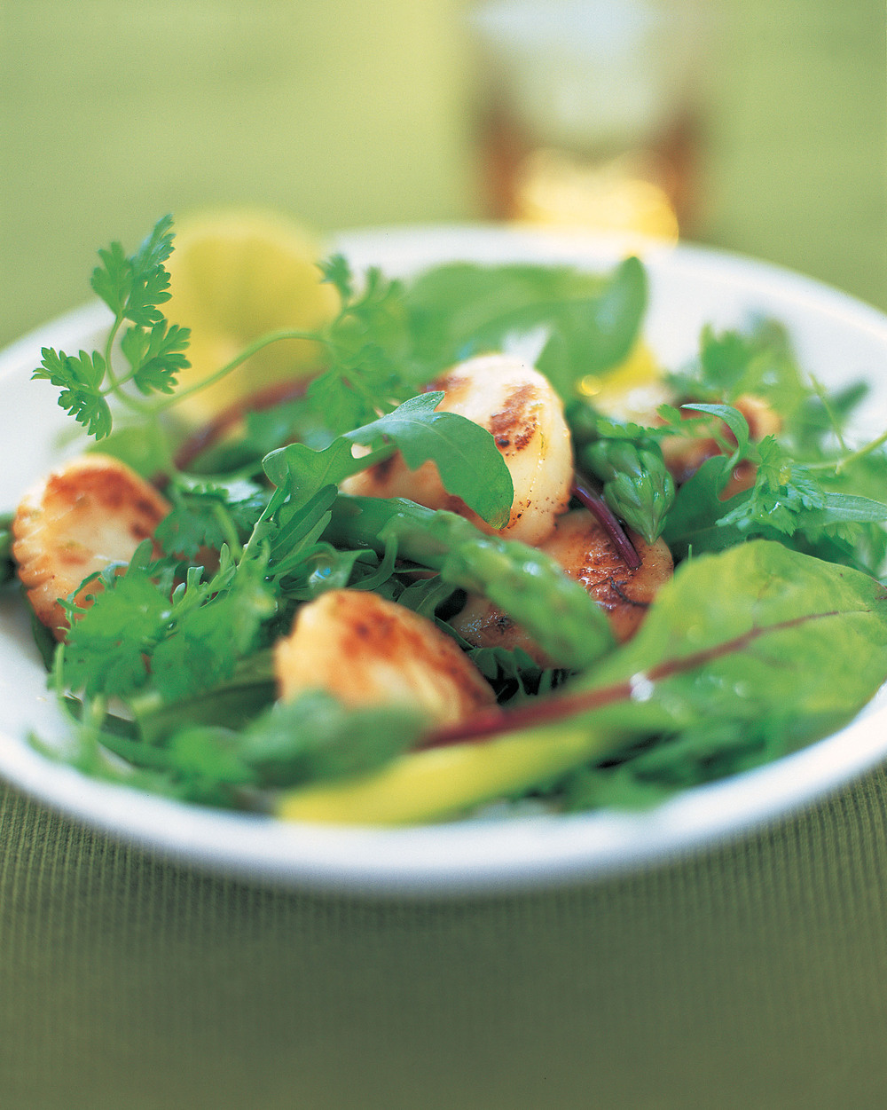 Ginger Scallops with Asparagus - AOL Living UK