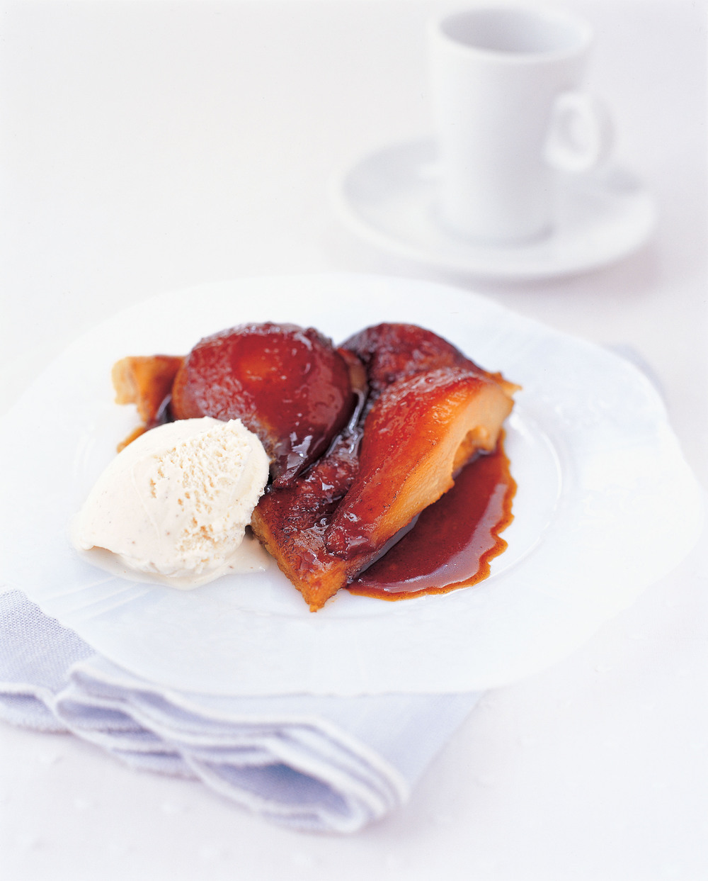 Caramel Pear & Marzipan Tart - Aol UK | Food