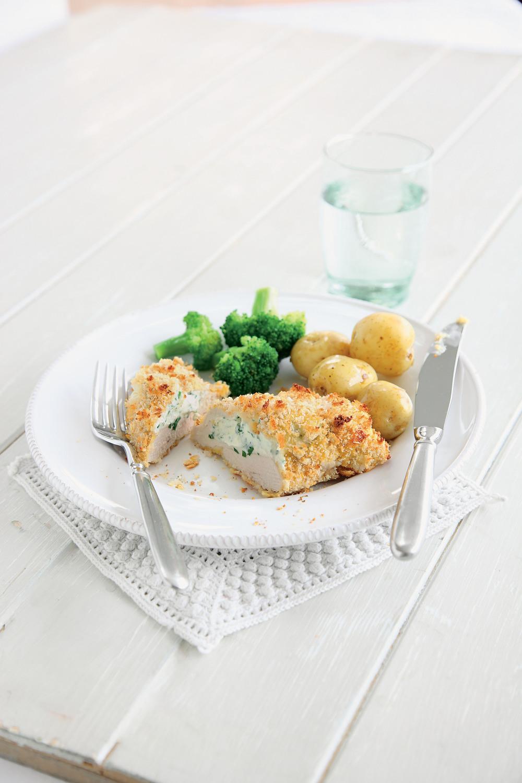 Crispy Garlic Baked Stuffed Chicken Breasts - AOL Living UK
