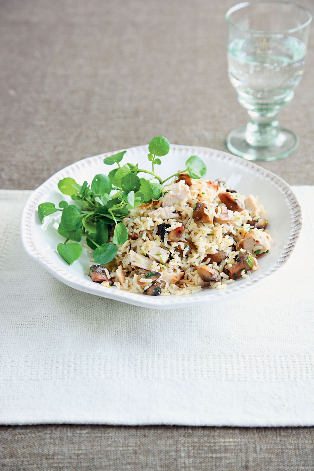 Quick Mushroom and Brown Rice Bowl - AOL Living UK