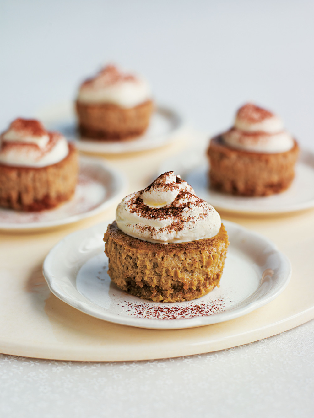 mini baked cappuccino cheesecakes aol living uk